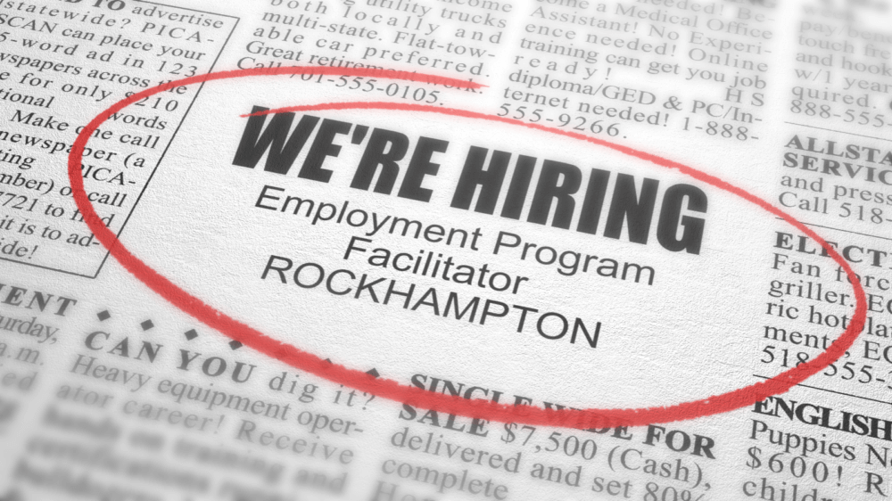 Employment Program Facilitator ROCKHAMPTON